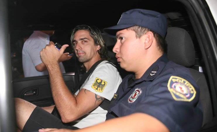 Nuevamente fue preso Aquiles Baéz por agresión y disturbio
