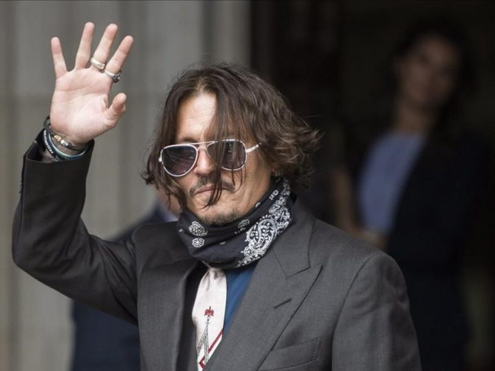 El Actor de Cine Johnny Depp  renuncia a su papel en 'Fantastic Beasts'